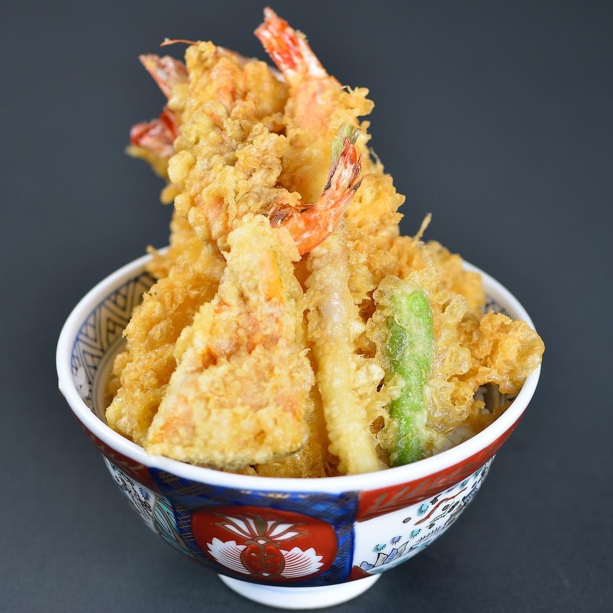 새우 튀김 덮밥