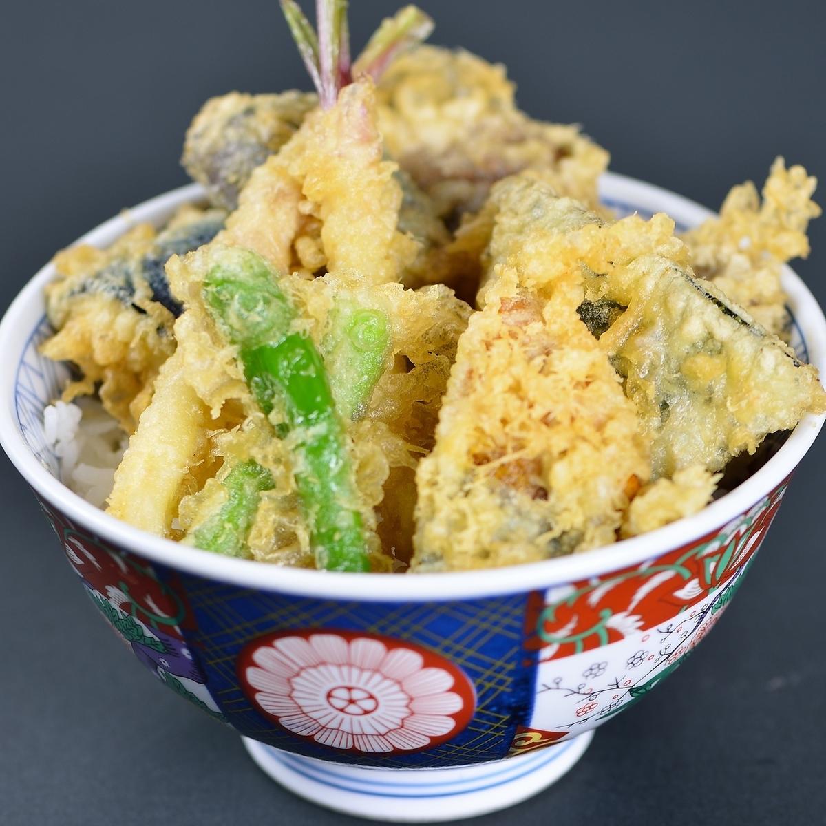 Vegetable on rice