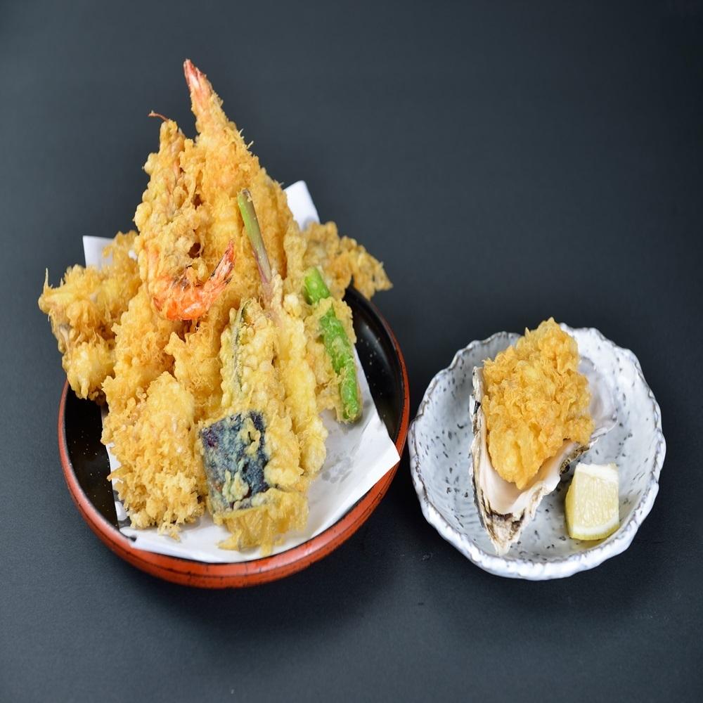 Above tempura