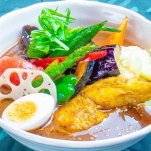 花托蔬菜咖喱