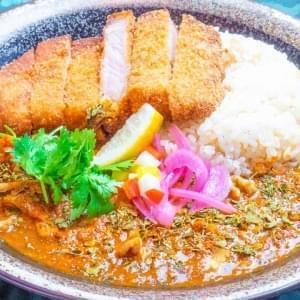 香料咖喱Rusuts麻chi猪肉炸猪排ver