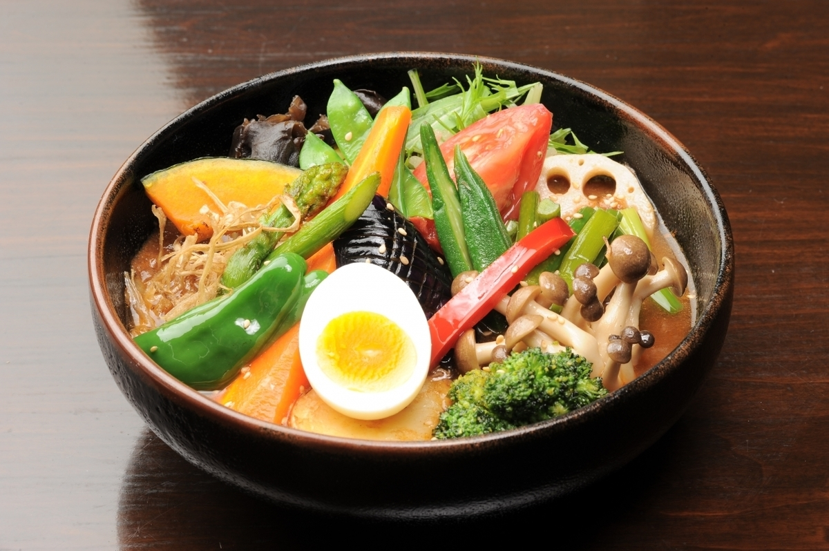 Vegetable * Please select 【Soup】 from the following.