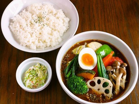 Monday to Friday! Vegetable curry 680 yen