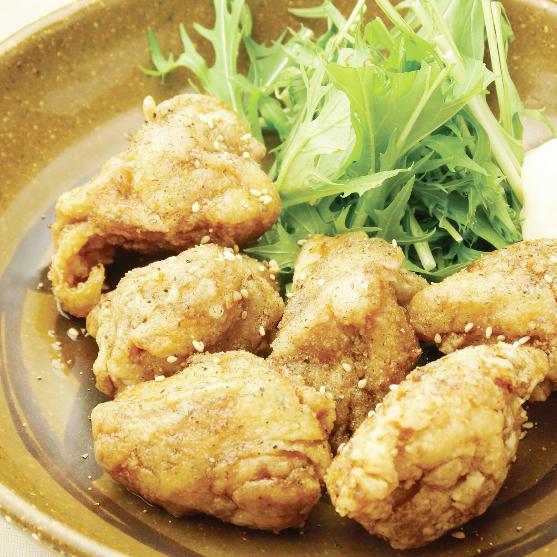 Deep-fried chicken of homemade sweet sagar sauce