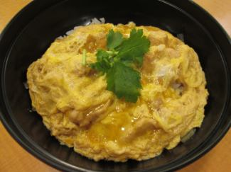 Attention-dressed Oyakodon