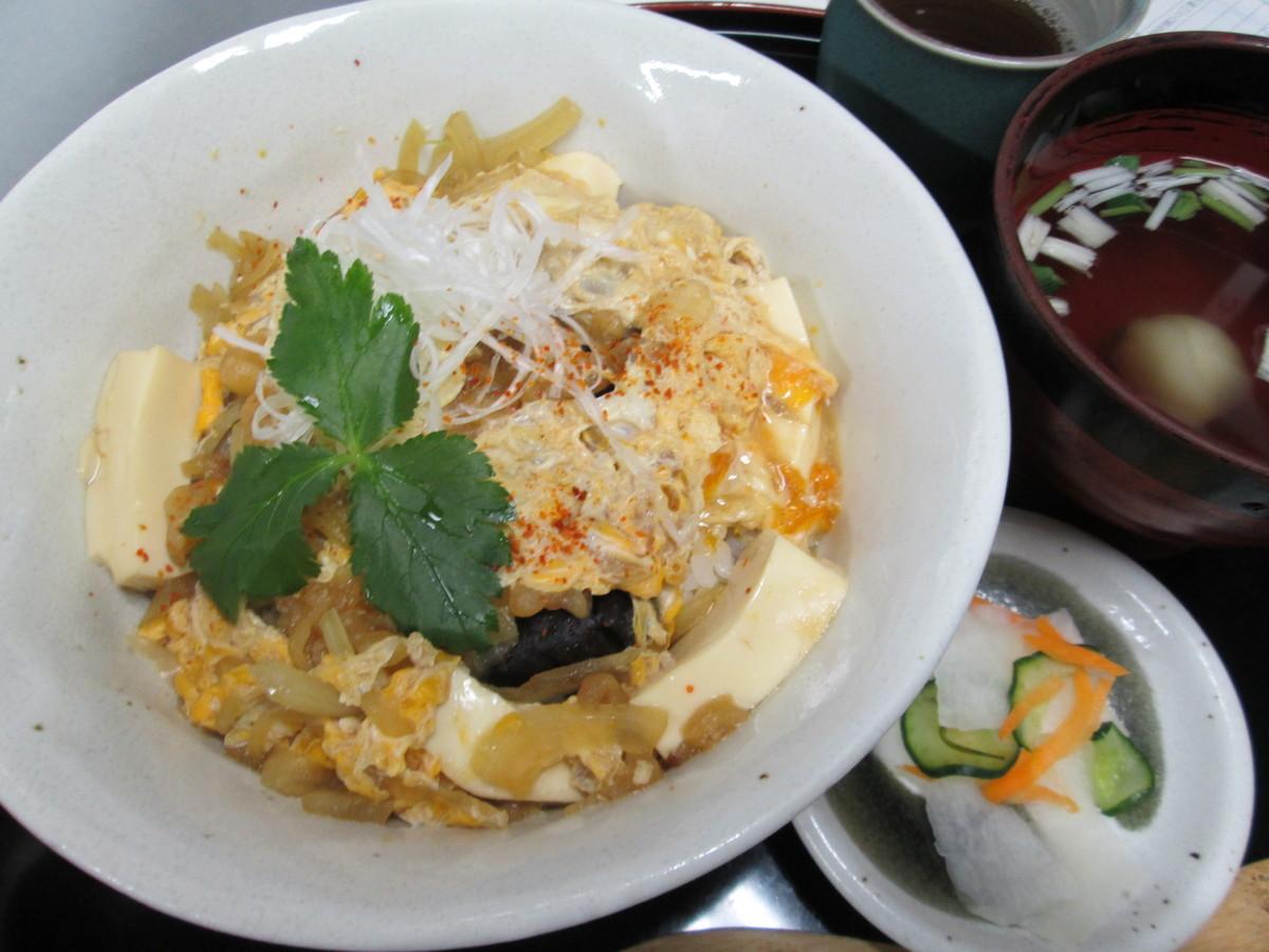 Tofu's healthy bowl