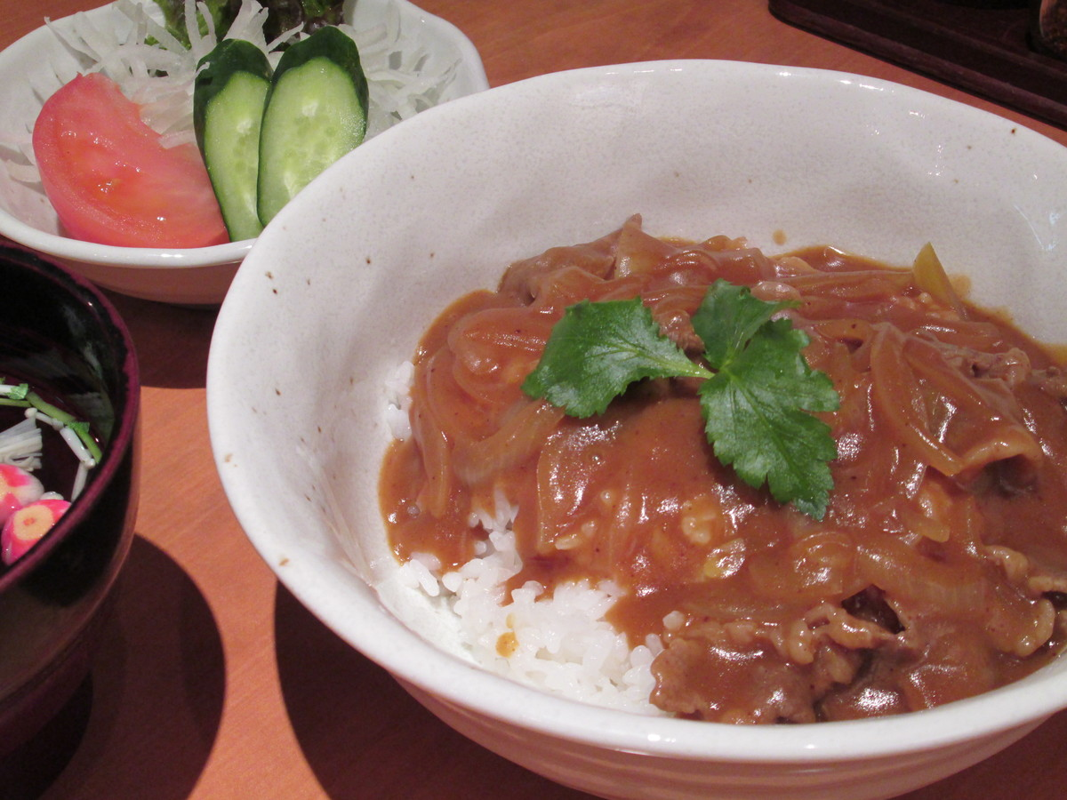 Himera cow's curry on rice
