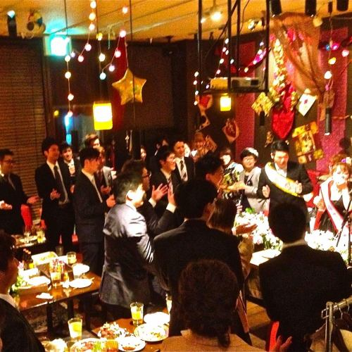 State of wedding second party ♪