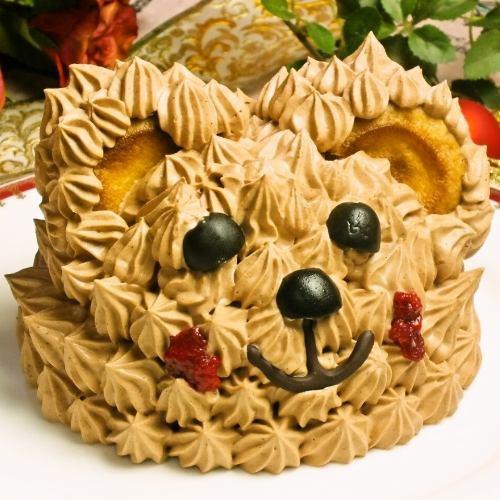 熊蛋糕4800日元