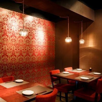 Japanese-style dining with no signboards.A completely different space expands in the back of the two doors.There is a lot of people coming in for a secluded Japanese food dining spreading in one room of the apartment behind Midtown, you can enjoy authentic Japanese food.