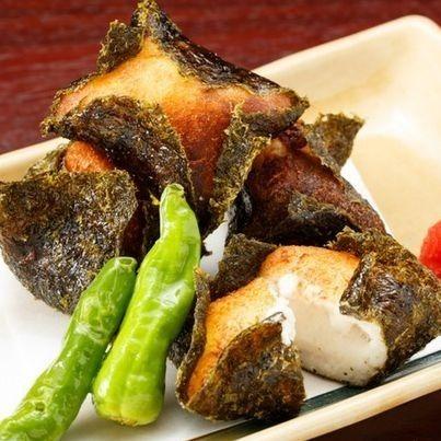 Deep fried Yamato sweet potato