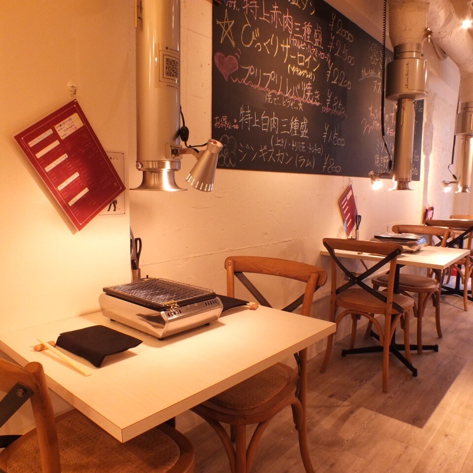 Recommended for dates ♪ delicious grilled meat in a beautiful and fashionable space!