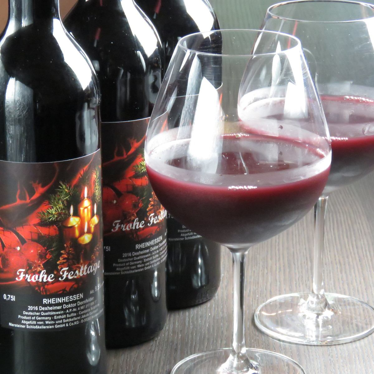 In Guernica, full bottle wine is also offered in a fulfilling lineup.We offer carefully selected wines at reasonable prices regardless of origin, such as North and South America, Australia, of course.