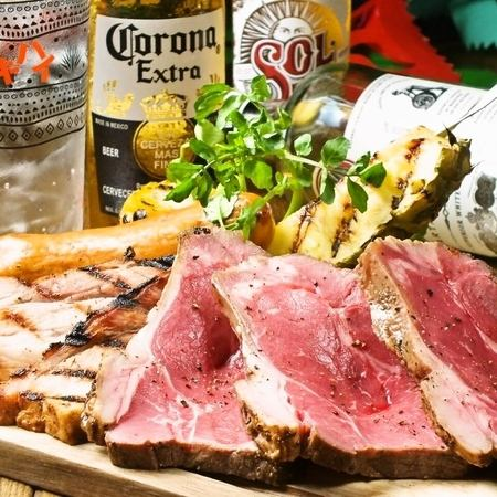 【お肉好きには、もってこい!上質素材にこだわり抜いた美味しい味わいを☆】サルサカバナの特製肉盛り◎♪