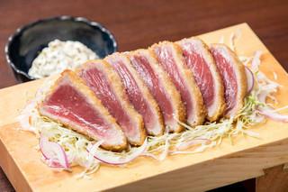 金枪鱼稀有炸肉排套餐