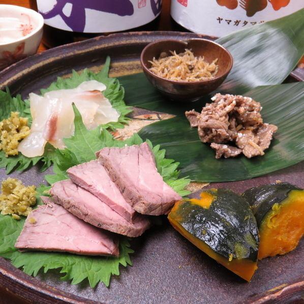 ◆«為一個人»一點一點的小吃◆手工製作的栗子和豪華的菜餚