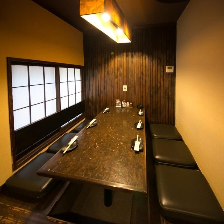 2階席は掘り炬燵個室をご用意。ご宴会に最適な空間です。
