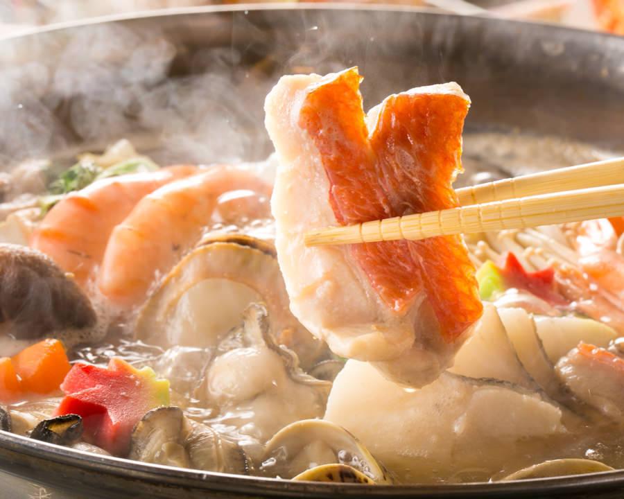 粉塵/豬肉鍋/牡蠣花蜜
