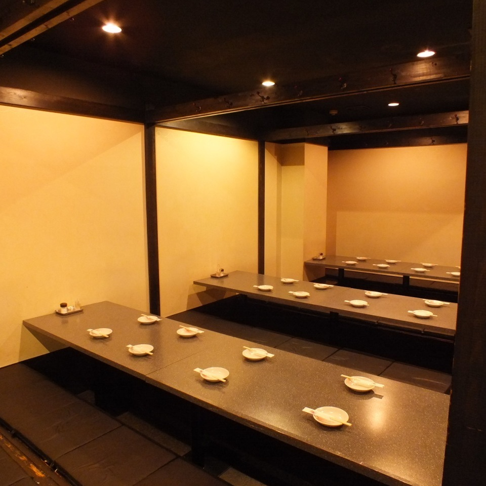 24 people or more in private room 【Maximum 80 people】 ★