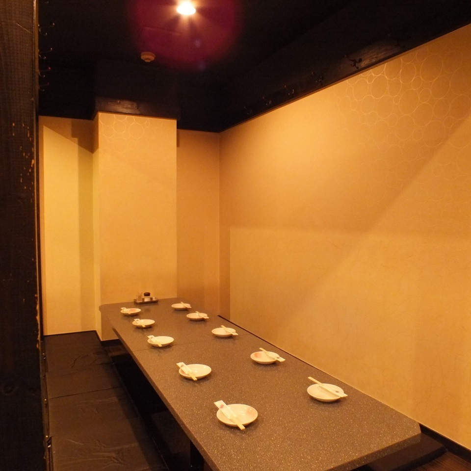 10 people or more in a private room 【Maximum 80 people】 ★