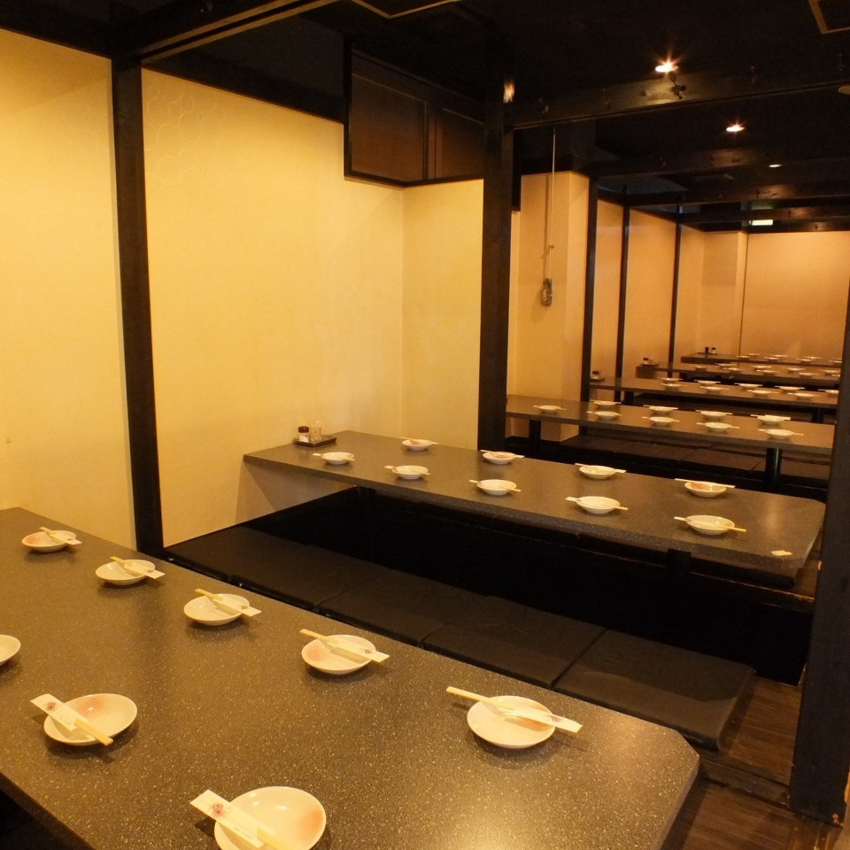 More than 54 people private room 【Maximum 80 people】 ★