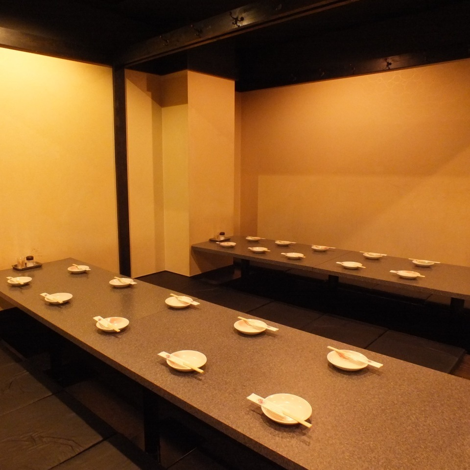 20 people or more in a private room 【Up to 80 people】 ★