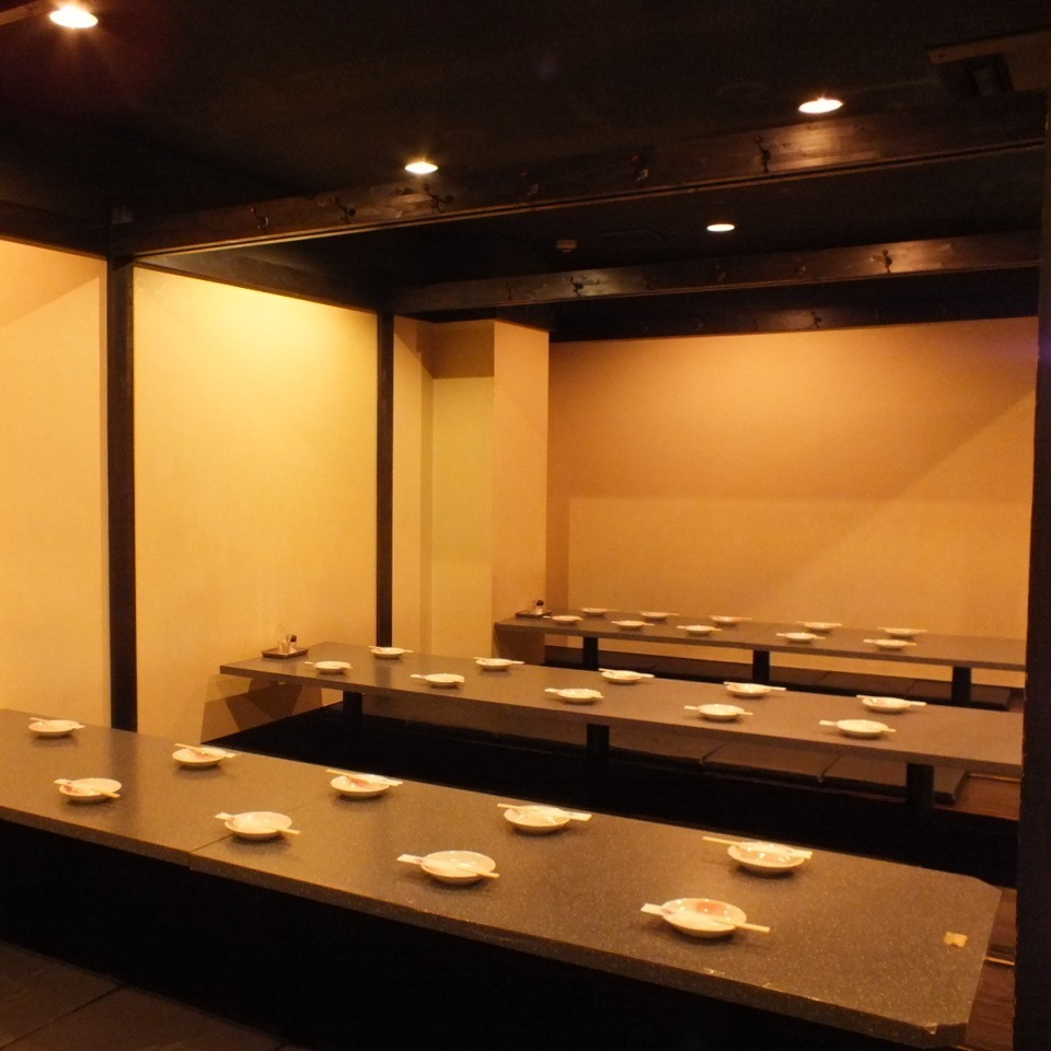 30 people or more in a private room 【Up to 80 people】 ★