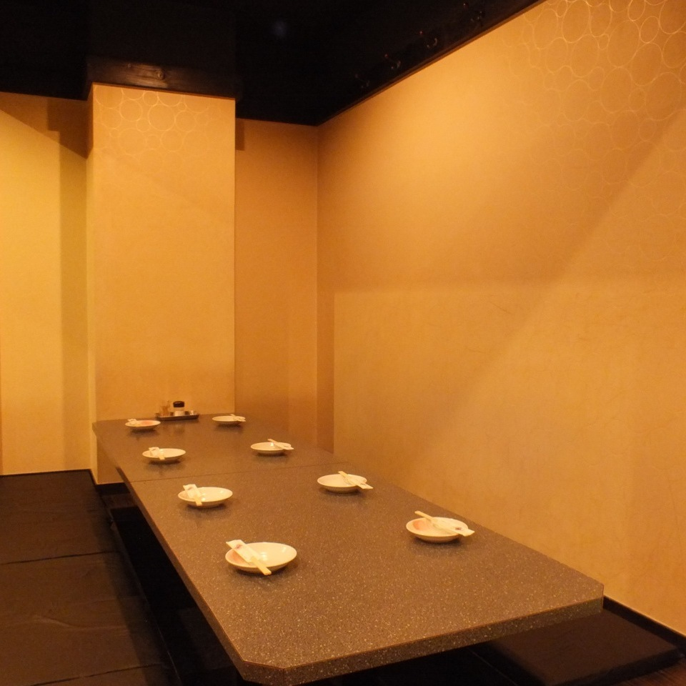 Picture is for 6 people perfect private room ★ Guide to complete private room for any number of people ★