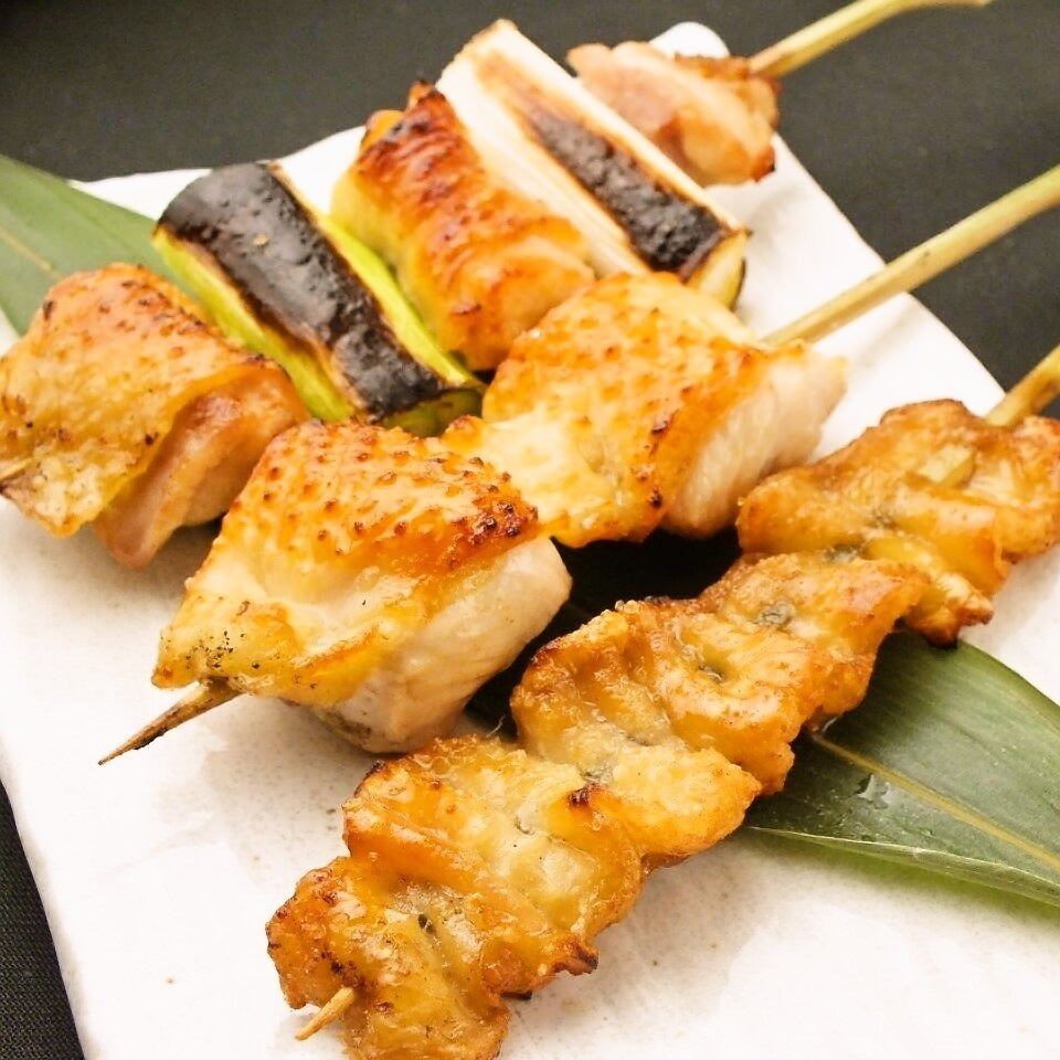【Ryouchi Chicken】 Tori skewers