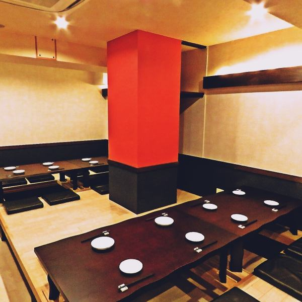 A spacious interior can accommodate up to 30 banquets ♪ It is possible to rent for over 20 people ★