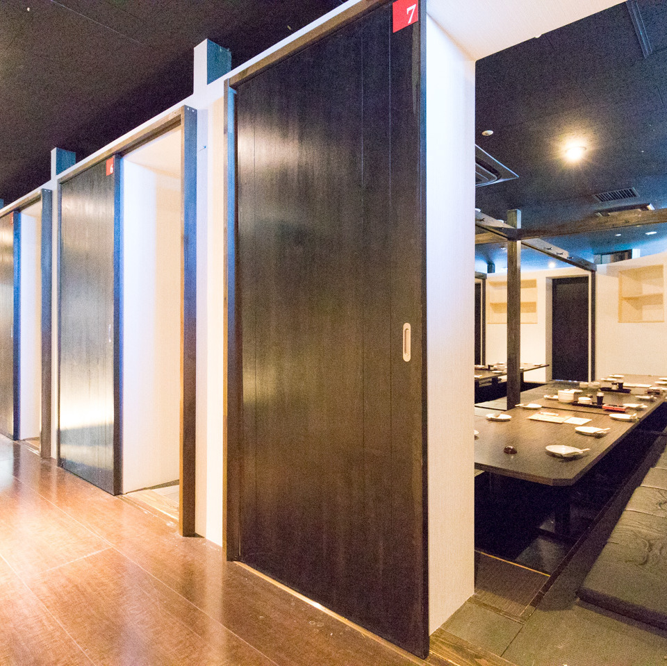 More than 160 people private room 【Maximum 160 people】 ★