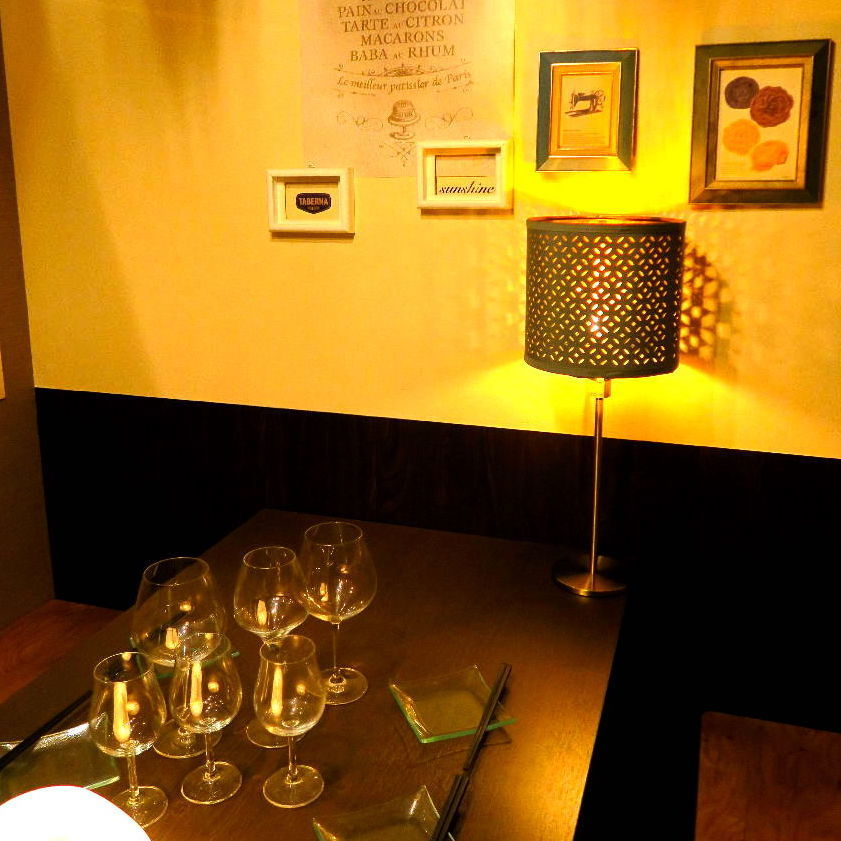 Private room popular with various banquets.Large-scale parties and large banquets are also available from time to time ★