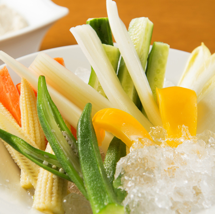 8種蔬菜Bagna馬尾