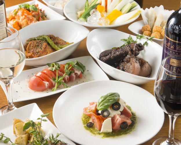 【ES原創計劃】7餐+無限暢飲3小時⇒3500日元!超過20人的私人房間OK !!