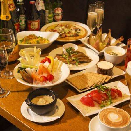 【12月有限公司!告別住宿計劃】7餐+ 2,你可以吃任何飲料⇒2,980日元!平日無限暢飲30分鐘服務
