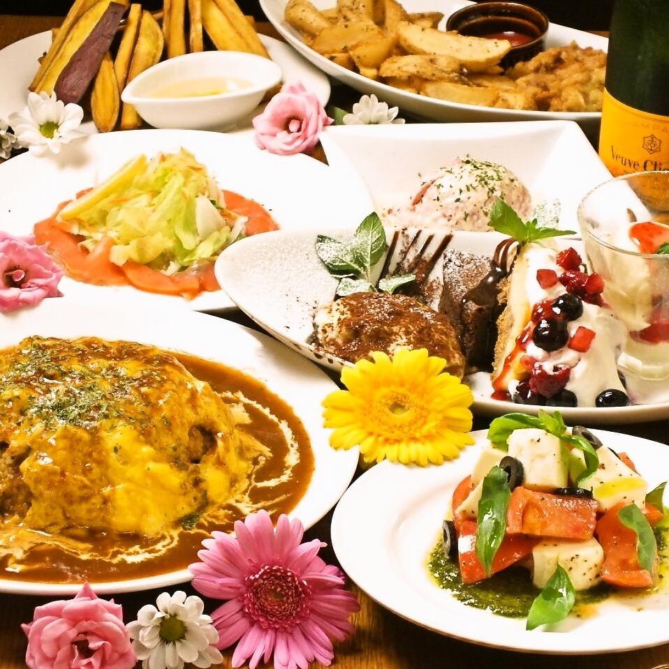 ★上課原計劃★20人 - !特許允許的膳食7道菜3小時(81種),全友可以喝3500日元!