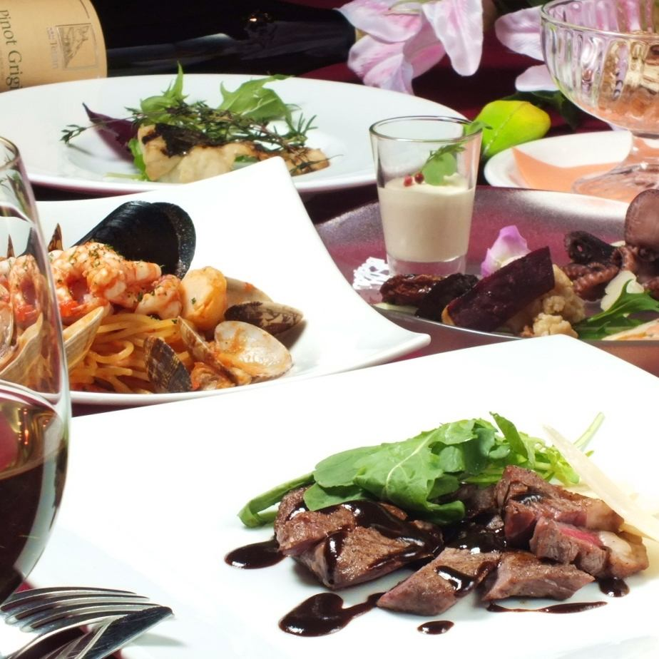 Authentic Italian course 5000 yen ~ Book and photo gifts by reservation