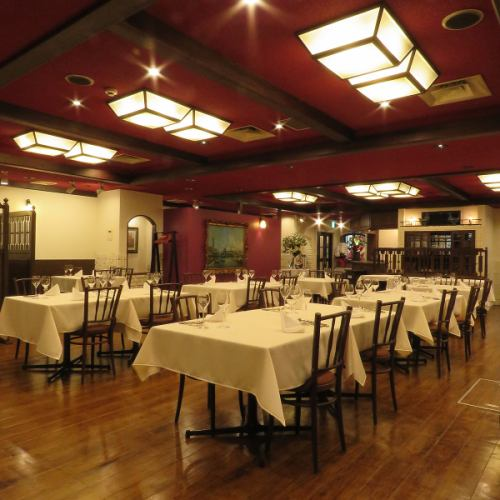 Wedding receptions, alumni reunions, etc ... For group use ◎