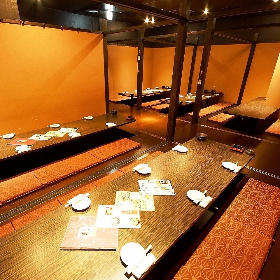 【VIP Room】 It is available for over 30 people.