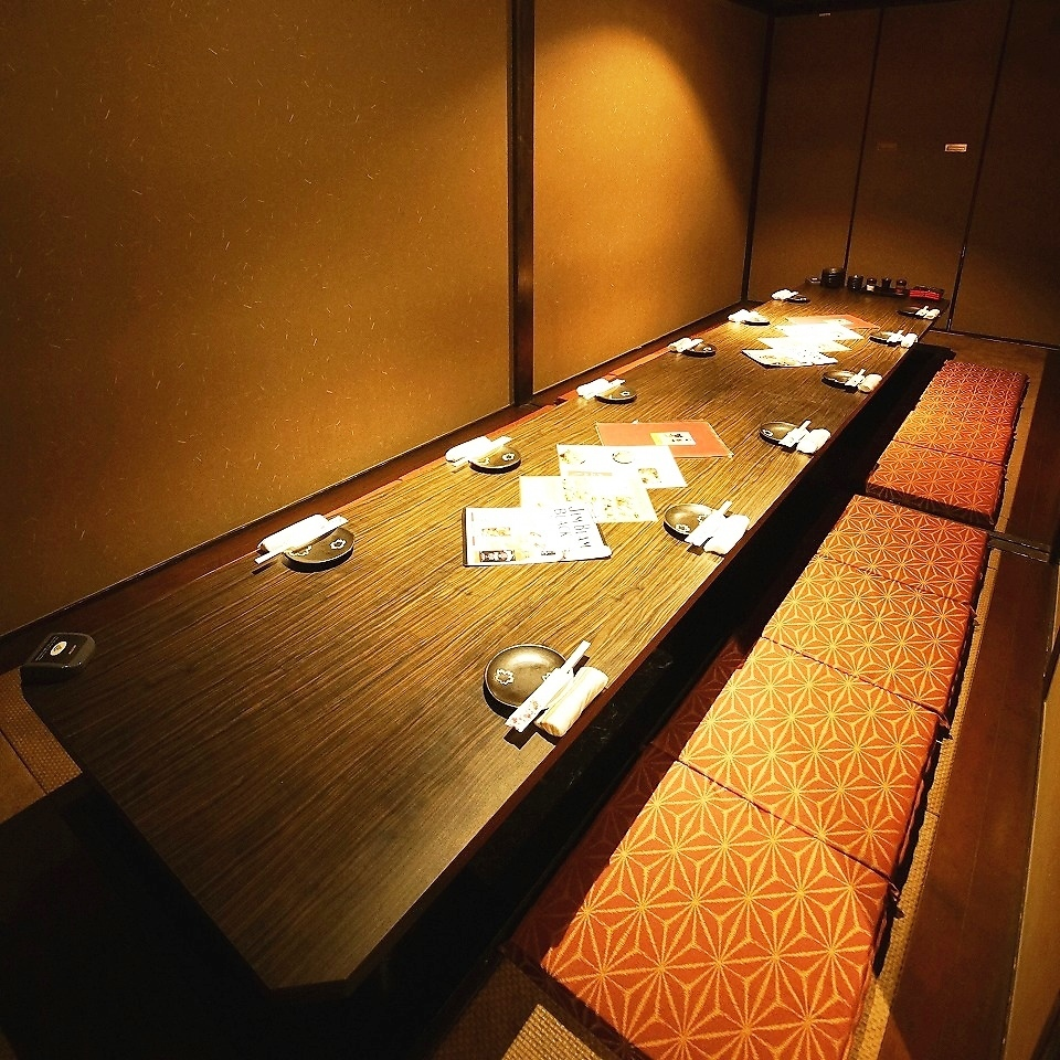 Face to face type of up to 14 people 1 table type private room