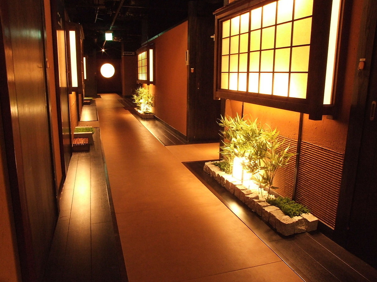 Completely private room with comfortable pursuit.A healing space through which the koto flows.