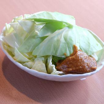 仙台味噌キャベツ