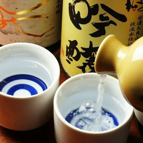 There are more than 30 kinds of Japanese sake enriched ★ All-you-can-drink drinking comparison!