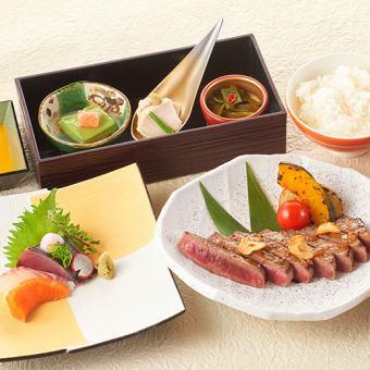 «推薦活動和傳統»和牛牛排晚餐<所有6項>包括飲料全包5300日元