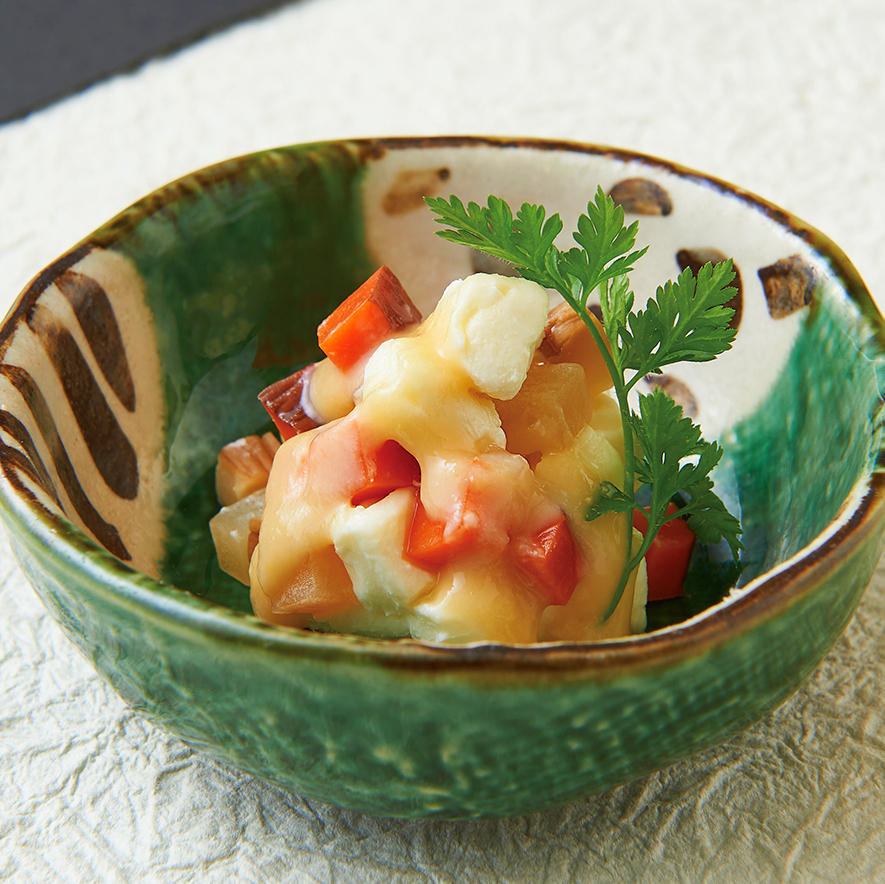 Ichigaku蛋糕奶油芝士/開胃菜Mentaiko / Taiya的Tadashi Hime
