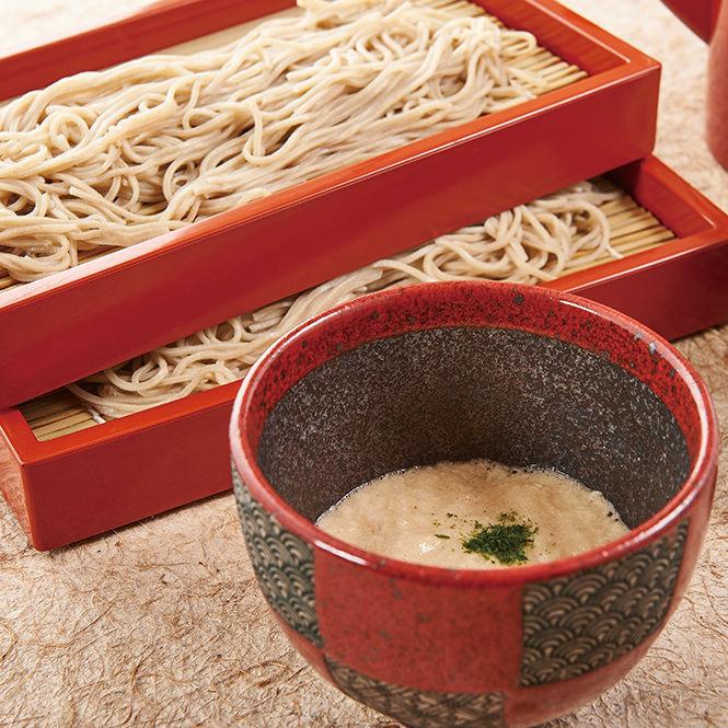 Tororo soyabe蕎麥麵<冷>
