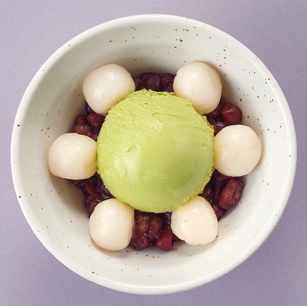 白球奶油Zenzai <香草或抹茶>