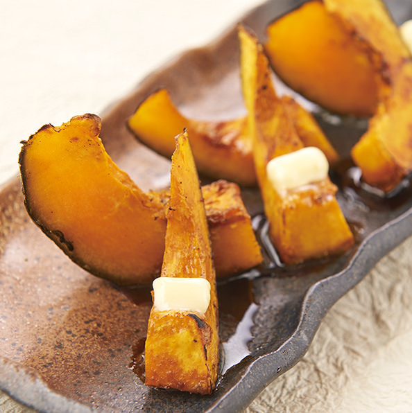 【北海道自己的農產品】南瓜的紅糖燒烤