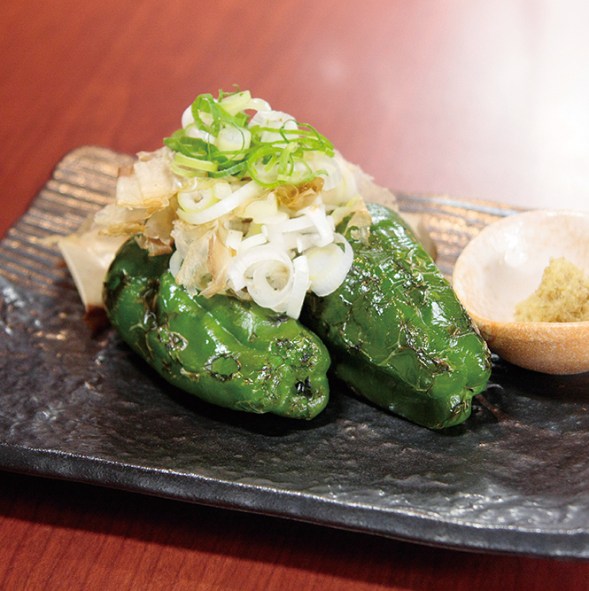 【Ibaraki Prefecture Production】 whole baked fried green pepper