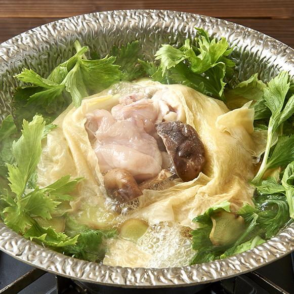 圓雞的腐竹火鍋